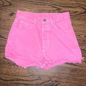 Pink Brandy Melville Shorts